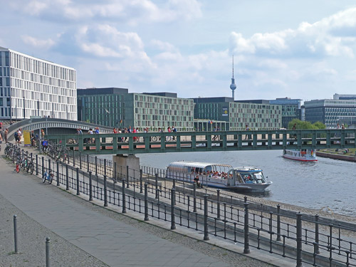 Ferry Boats on the Spree River, Berlin