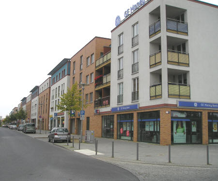 Street in East Berlin