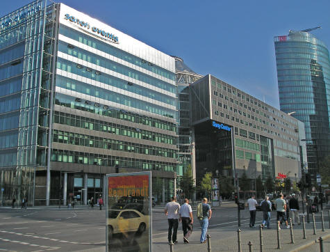 Modern Buildings near Potsdamer Platz in Berlin