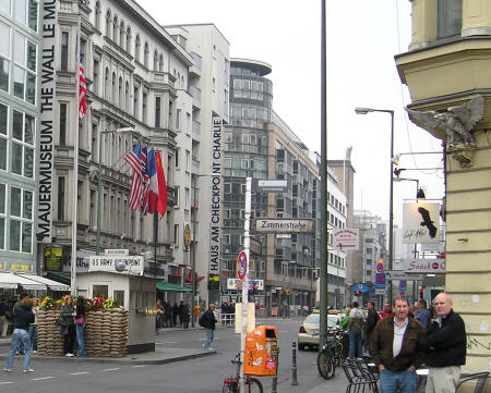 Checkpoint Charlie Museum - Berlin Germany