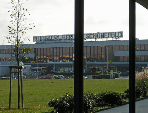 Schonefeld Airport in Berlin Germany