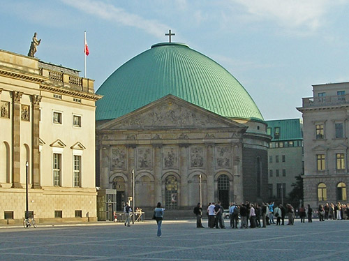 St. Hedwig's Cathedral in Berlin Germany